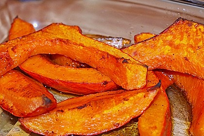 Kartoffel - Kürbis - Wedges