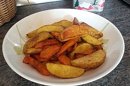 Kartoffel - Kürbis - Wedges 10