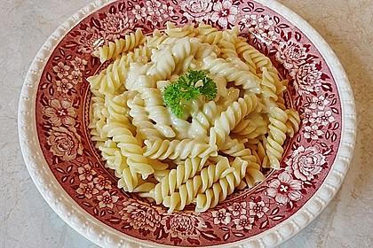 Nudeln mit Gorgonzolasauce 1