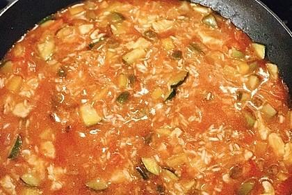Paprika - Reispfanne mit Pute (Bild)