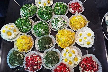Bunte Blütenbällchen 8