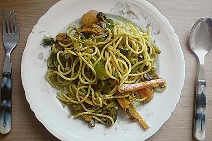 Curryspaghetti