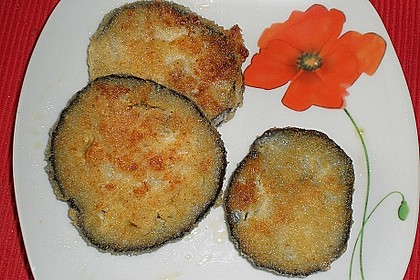 Panierte Auberginen 2