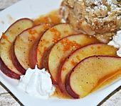 Apfel - Carpaccio mit Honig (Bild)