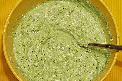 Bärlauch - Schafskäsecreme 16