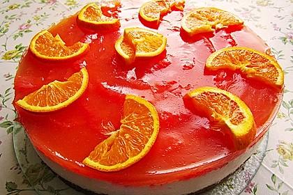Grapefruit - Frischkäsetorte
