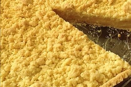 Streuselkuchen mit Pudding 31
