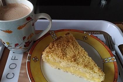 Streuselkuchen mit Pudding 10