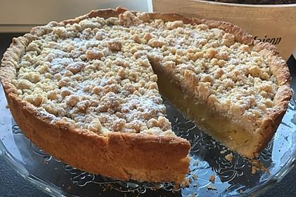 Streuselkuchen mit Pudding 12
