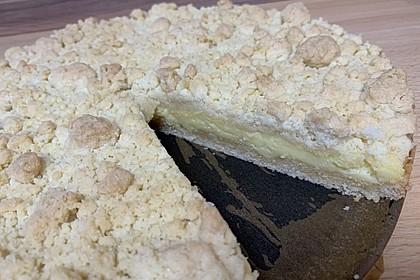 Streuselkuchen mit Pudding 7