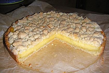 Streuselkuchen mit Pudding 14