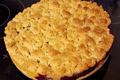Streuselkuchen mit Pudding 34
