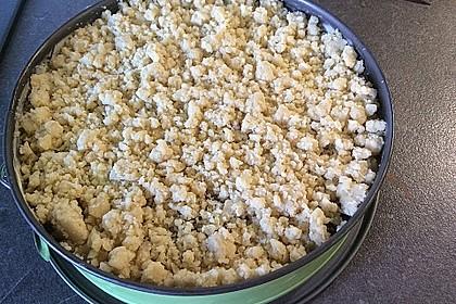 Streuselkuchen mit Pudding 45