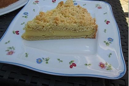 Streuselkuchen mit Pudding 17