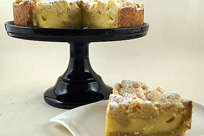 Streuselkuchen mit Pudding 4