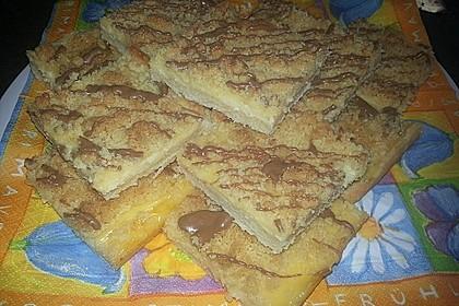 Streuselkuchen mit Pudding 39