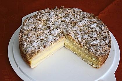 Streuselkuchen mit Pudding 13
