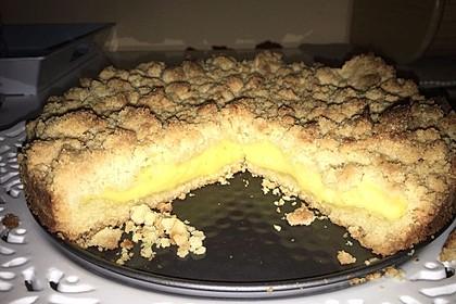Streuselkuchen mit Pudding 55