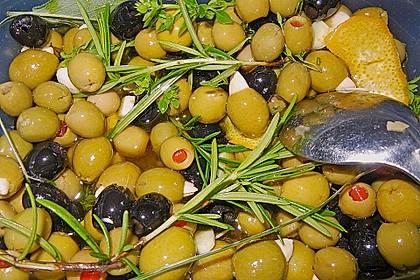 """Eingelegte Oliven """"provenzalische Art"""" 7"""
