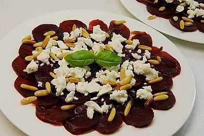 Rote Bete Salat mit Schafkäse & Balsamico - Dressing 2