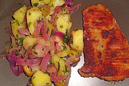 Wiener Schnitzel mit steirischem Kartoffelsalat 2
