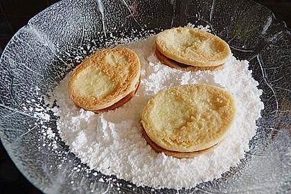 Roros mürbe Osterplätzchen - mit Lemon Curd und Brombeergelee 6