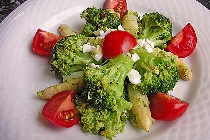 Spargel - Brokkoli - Salat 2