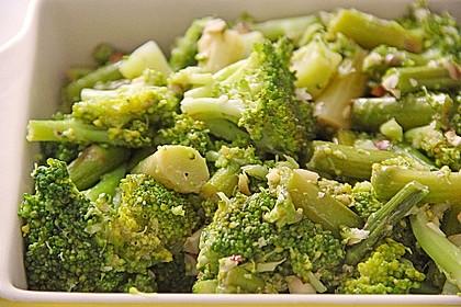 Spargel - Brokkoli - Salat 6