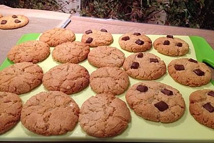 Saftige Erdnussbutter - Cookies 28
