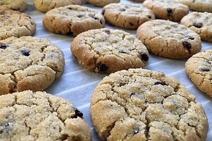 Saftige Erdnussbutter - Cookies 5
