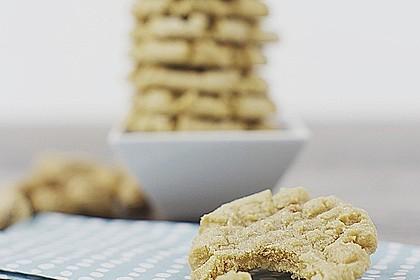Saftige Erdnussbutter - Cookies 7