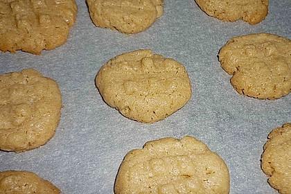 Saftige Erdnussbutter - Cookies 40