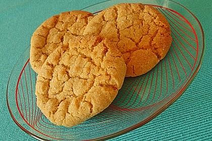 Saftige Erdnussbutter - Cookies (Bild)