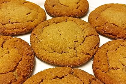Saftige Erdnussbutter - Cookies 18