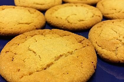 Saftige Erdnussbutter - Cookies 37