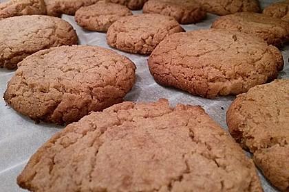 Saftige Erdnussbutter - Cookies 24