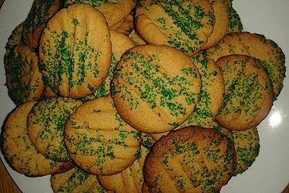Saftige Erdnussbutter - Cookies 39