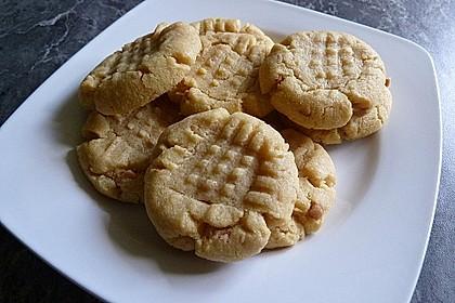 Saftige Erdnussbutter - Cookies 22