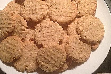 Saftige Erdnussbutter - Cookies 44