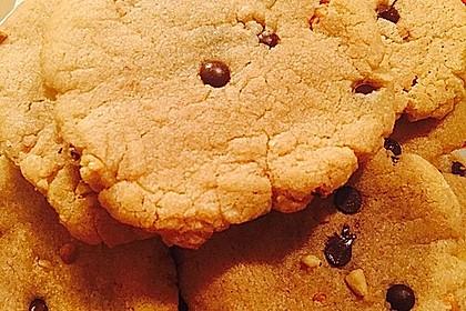 Saftige Erdnussbutter - Cookies 26