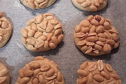 Saftige Erdnussbutter - Cookies 8