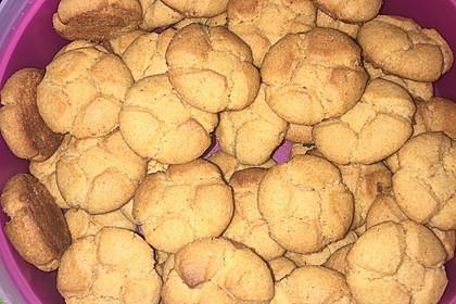 Saftige Erdnussbutter - Cookies 34