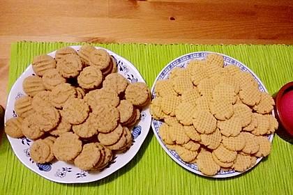 Saftige Erdnussbutter - Cookies 13