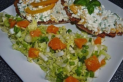 Chinakohlsalat mit Orangenfilets 1