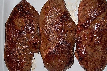 Rindersteaks - sanft garen mit Niedrigtemperatur 34