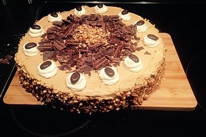 Cappuccino-Nuss Torte 3