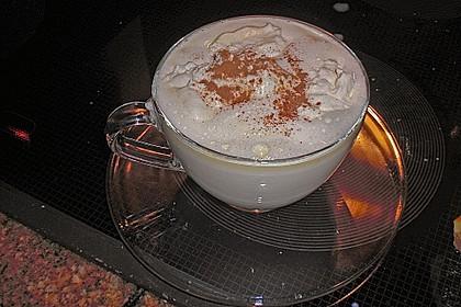 Heiße weiße Schokolade 1