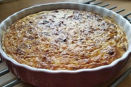 Zwiebelkuchen mit Mürbeteig 2