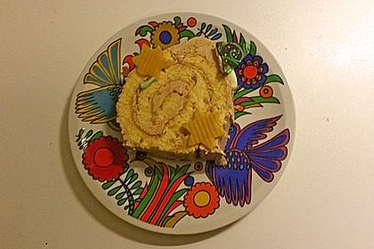 Weihnachtliche Bismarkeiche mit Buttercreme 1