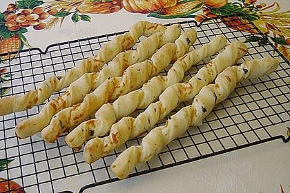 Oliven - Kräuter - Parmesan Breadsticks 6